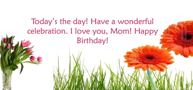 happy birthday mom wishes
