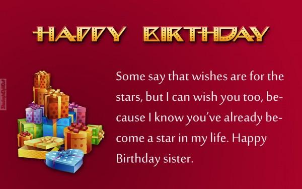 best sister birthday wishes