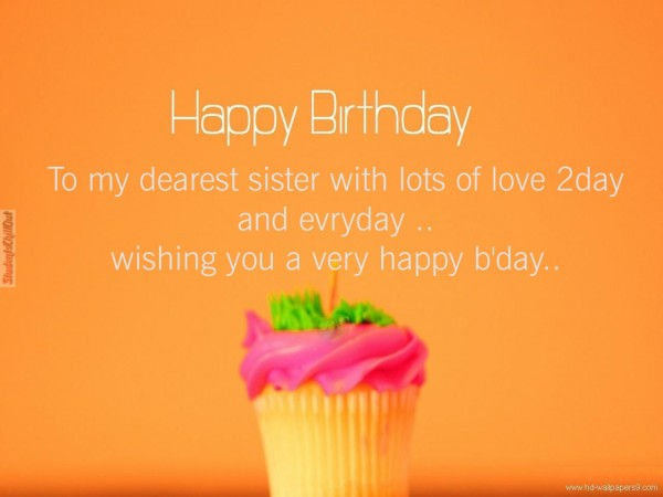 best happy birthday wishes for sister