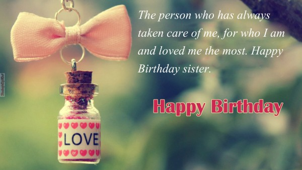 best happy birthday wishes to sister