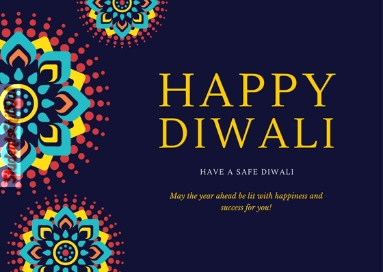 Happy Diwali - Greeting Card