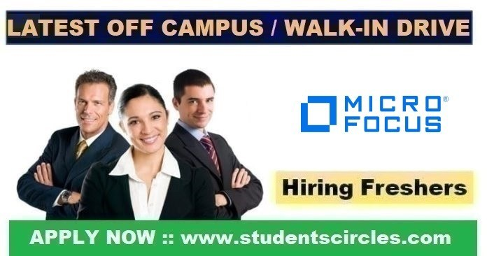 Micro Focus Recruitment 2020