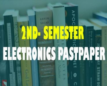 2nd Semester Electronic