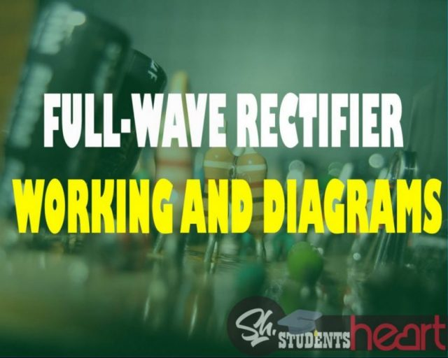 Working Of Full Wave Rectifier Center Tapped And Bridge Half Circuit From Ac To Dc