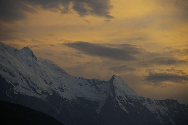 Hunza Valley Landscape