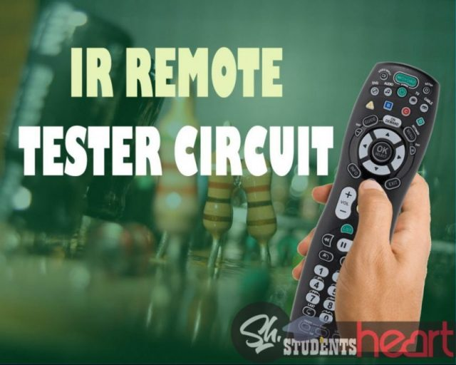 Make Very Easy Ir Remote Tester Project Control Leds On Irremotecontrolcircuitdiagram2jpg