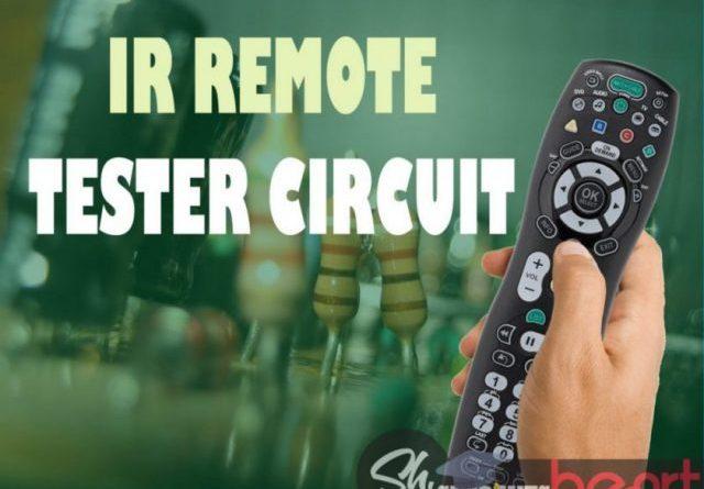 IR remote Tester