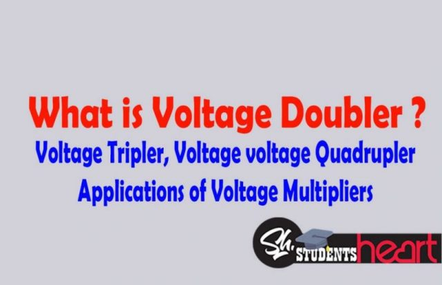 Voltage Multipliers Working Of Doubler Tripler Circuit Positive And Negative Half Cycles Halfcycle Quadrupler