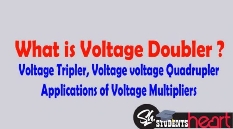 voltage multipliers circuit