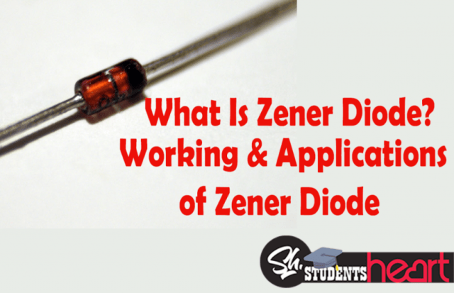 Zener Diode V I Characteristics Working And Applications Circuit Diagram