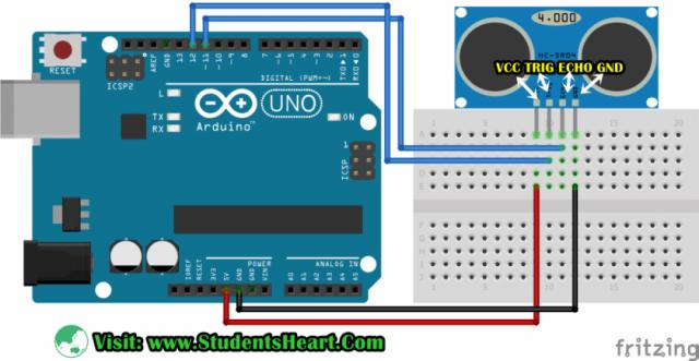 how to interface ultrasonic sensor with arduino code (updated) 2019Ultrasonicsensor Circuit Diagram For Arduino #1