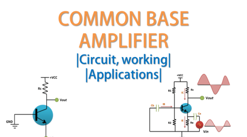 common base amplifier tutorial