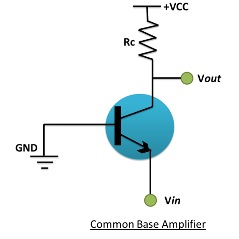 common base amplifier