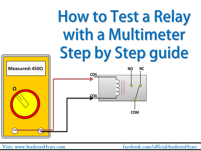 How To Check A Relay >> How To Test A Relay With A Multimeter Step By Step Guide 2019