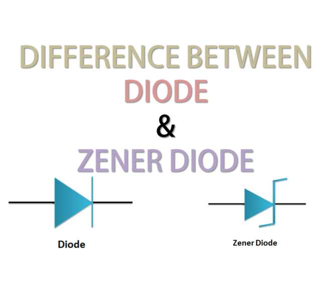 Difference Between Diode and Zener Diode (Updated)