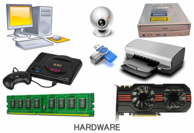 Difference between hardware and software figure 2