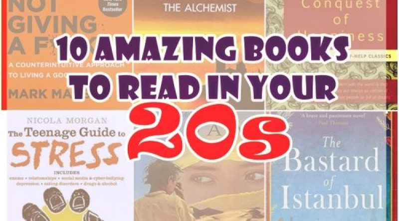 books to read in your 20s
