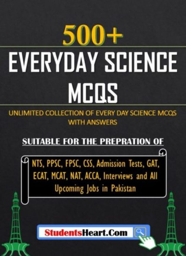 EVERYDAY SCIENCE MCQs