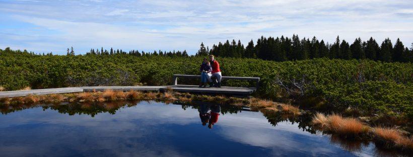 Lovrenška jezera z družino