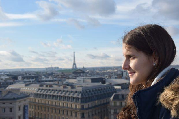 Razgled na Pariz z Lafayette