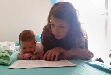 Urška: Pri dvajsetih sem se odločila, da si želim otroka
