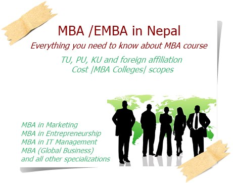 EMBA and MBA in Nepal