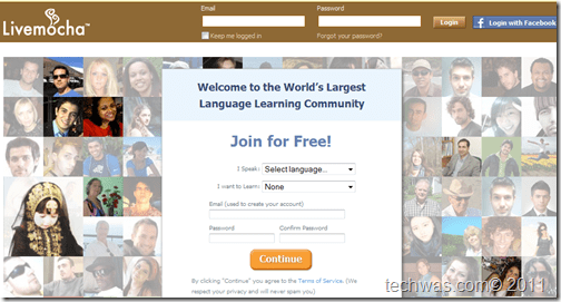 LiveMocha English Training site