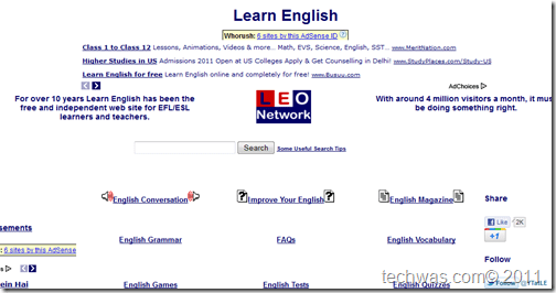 Learn English Free Online