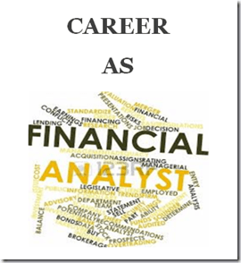 CAREER AS FINANCIAL ANALYST