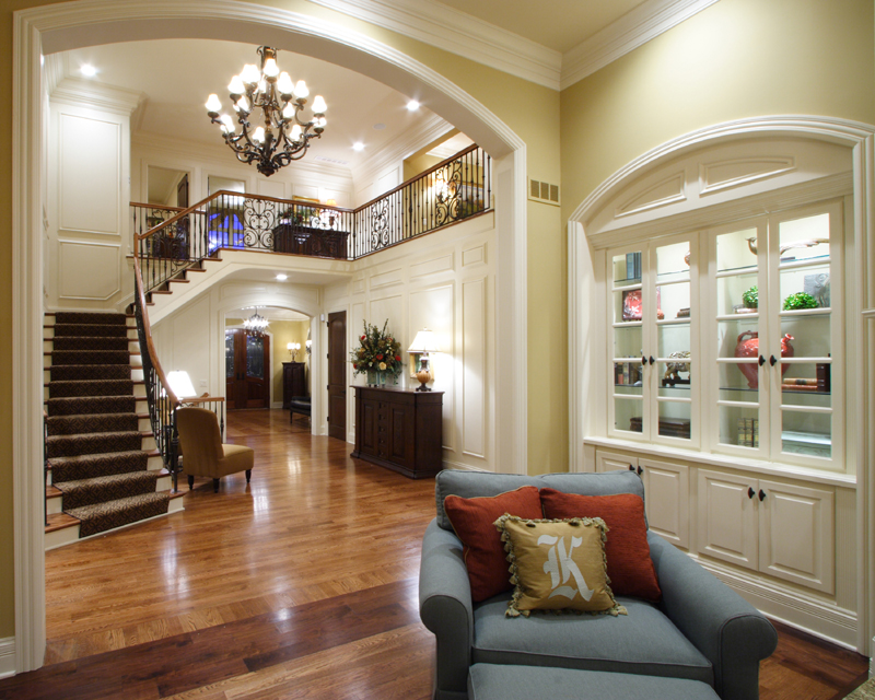 Foyer Photos Of Custom House Plans By Studer Residential