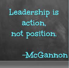 Leadership action