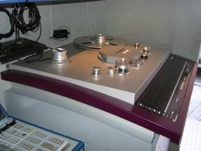 STUDER D827 im ehemaligen TV-Übertragunswagen des Bayerischen Rundfunks.