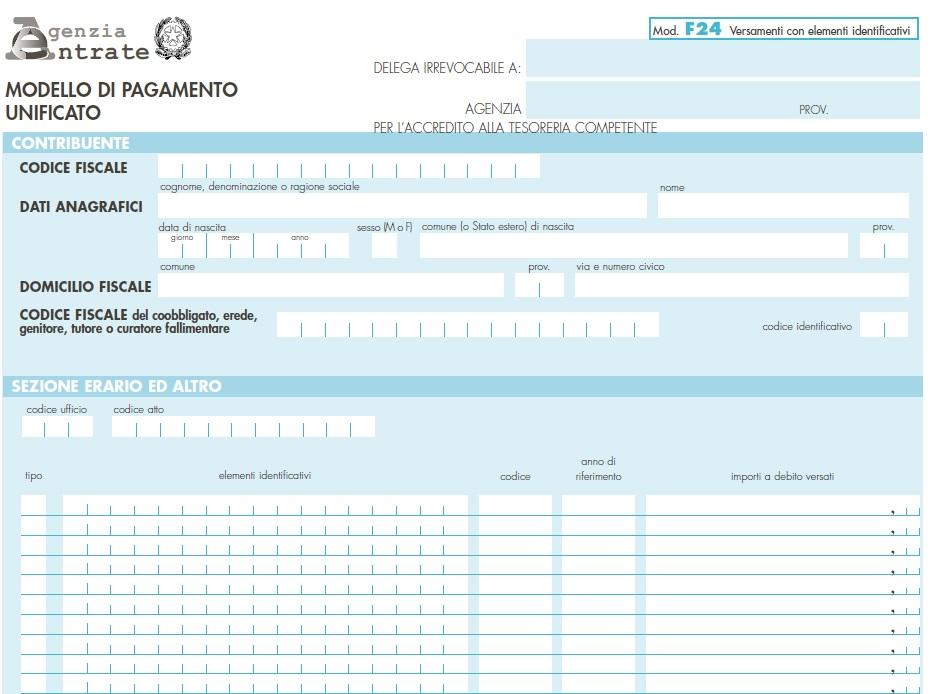 Come Pagare Limposta Di Registro Sugli Affitti Con Lf24
