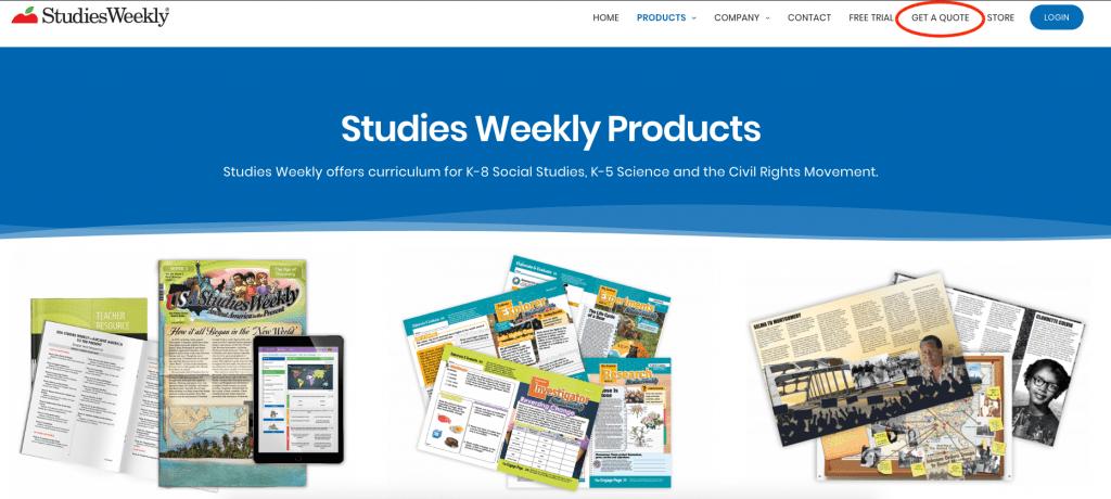 Studies Weekly Products