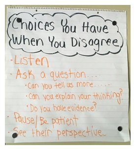Choices you have when you disagree -- teaching sensitive subjects in the classroom