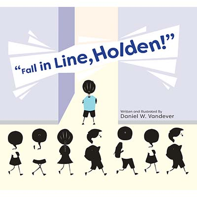 Fall in Line, Holden book cover