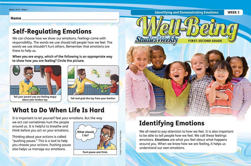 Studies Well-Being Curriculum Self-Regulating Emotions Article