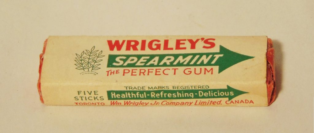 Gum from World War II era