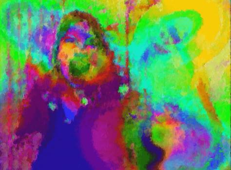 Colère Portrait en pixel art - Dessin pixel par pixel
