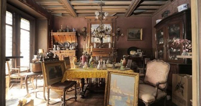 Appartement abandonné depuis 70 ans à Paris