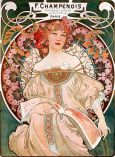 Alfons Mucha F. Champenois Imprimeur-Éditeur, 1897 Lithographie, 72.7 × 55.2 cm Private collection