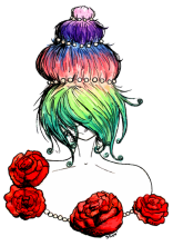 Multicolored Queen