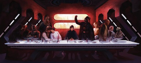 Eric Deschamps, Star Wars Last Supper, 2005