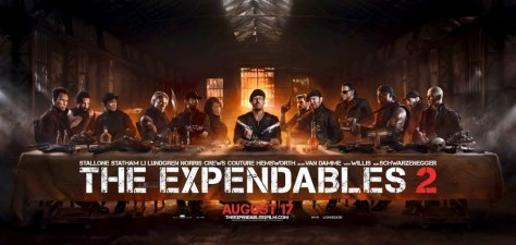 La Cene version The Expendables 2