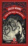 Couverture de la réédition de Vingt mille lieues sous les mers, Livre de poche, 2001