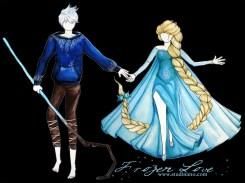 Frozen Love Acrylique sur papier Canson www.studinano.com