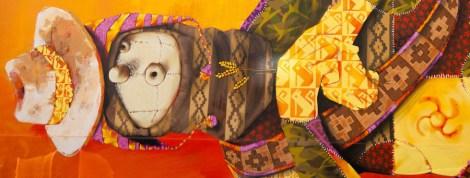Inti, Titre inconnu Street art, 2011 École Lahire, rue Lahire Paris 13e (75)