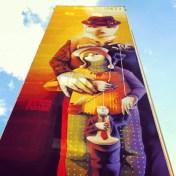 Inti, Titre inconnu Street art, 2012 129 avenue d'Italie Paris 13e (75)