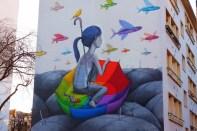 Seth, Titre inconnu Street art, 2013 2 rue Emile Deslandres Paris 13e (75)