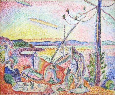 Luxe, Calme et Volupté, Henri Matisse (1869-1954) 1904 Huile sur toile 98.5 cm × 118.5 cm Musée d'Orsay, Paris